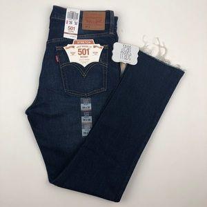 NWT Levi's 501® Stretch Skinny Jeans